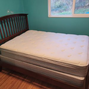 Twin Bed Frame / Mattress And Box Spring for Sale in Auburn, WA