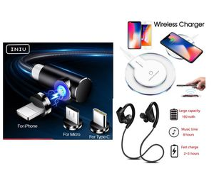 Wireless Headphones, Wireless Charger, Magnetic Charger Cable for Sale in Wilton, CA