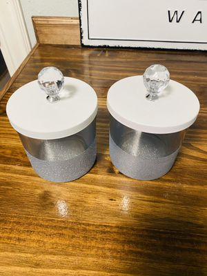 Glitter Jar Set Storage Containers for Sale in Nacogdoches, TX