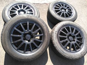 15 rims 5x100 corollas Subaru wv for Sale in Manassas, VA