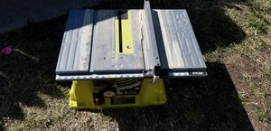 Table saw take it for free for Sale in Leesburg, VA