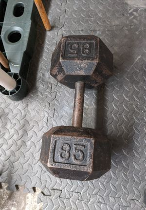 Single 85lb Dumbbell for Sale in Tacoma, WA