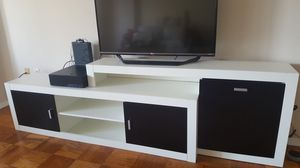 3 piece wall unit - TV stand with storage and shelves for Sale in Revere, MA