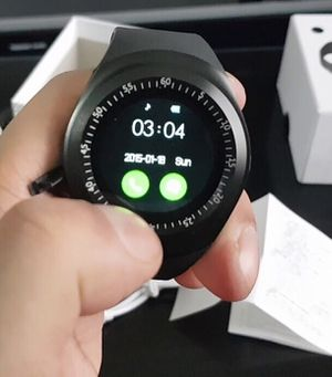 New bluetooth smartwatch touch screen suport SIM card or connect bluetooth compatible iOS or android phone smartphone for Sale in Covina, CA