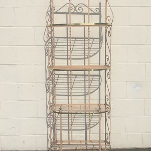 Metal bakers rack Or plant Stand for Sale in Anaheim, CA