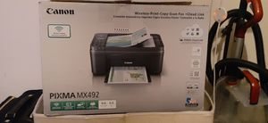 Canon PIXMA MX492 printer/fax/scanner for Sale in Costa Mesa, CA