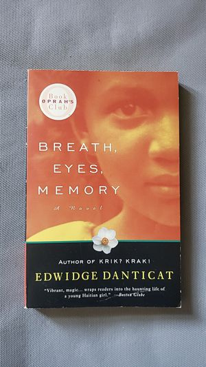 BREATH,EYES,MEMORY a novel (oprahs book club) for Sale in Manchester, CT