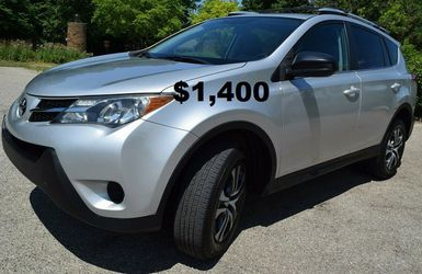 one Owner2013 Toyota RAV4 AWD LE-EDITION for Sale in Union City,  CA