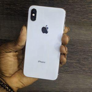 iPhone X 64GB white for Sale in Boston, MA