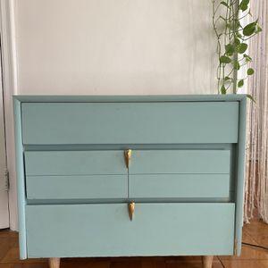 Blue 3 Drawer Antique Dresser for Sale in Washington, DC