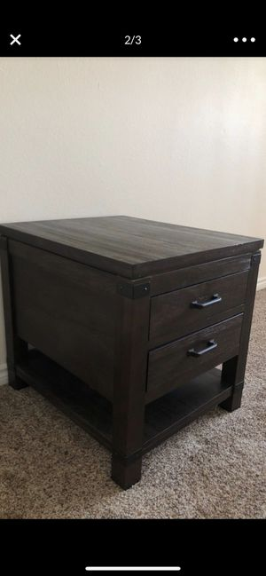 Industrial Side Table / Night Stand (Only 1) for Sale in Bellflower, CA