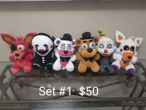 FNAF Plushies for Sale in Houston, TX