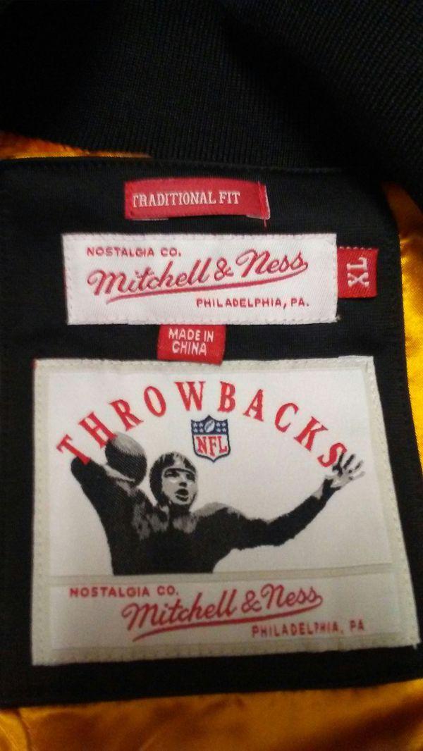 Mitchell Hess Throwback nylon jacket
