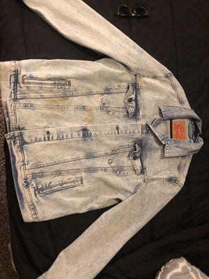 Sz Large Levi Jean Jacket for Sale in Houston, TX