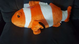 Plush Orange White Plushy Fish for Sale in East Orange, NJ