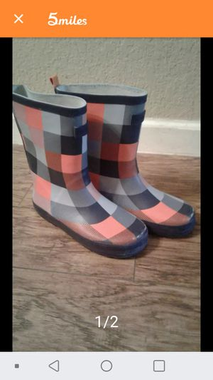 Kids RAIN BOOTS SZ.2 for Sale in Round Rock, TX