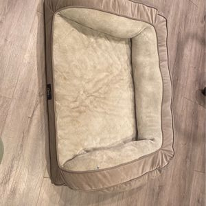 Beige And Gray Doggie Medium Bed for Sale in Long Beach, CA
