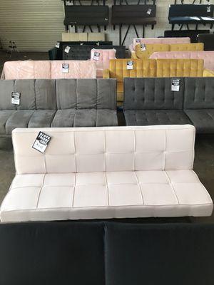 Light Pink Futon ‼️Black Friday Sale‼️ for Sale in Dallas, TX