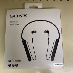 Sony WI-C400 Wireless in-Ear Headphones with up to 30 Hours Battery Life - Black for Sale in Houston, TX