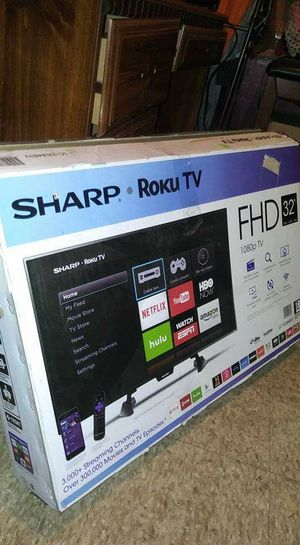"32""sharp roku tv can test before buying for Sale in Chicago, IL"