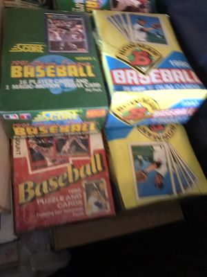 Baseball / Football Cards UNOPENED for Sale in Guadalupe, AZ