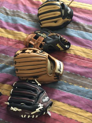 Baseball Gloves for Kids for Sale in San Francisco, CA