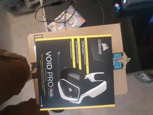 Corsair Void Pro RGB Wireless with Dolby Headphone 7.1 for Sale in Wyoming, MI