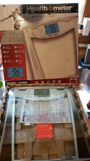 Healthometer PRO BODY FAT SCALE for Sale in Ravenswood, WV