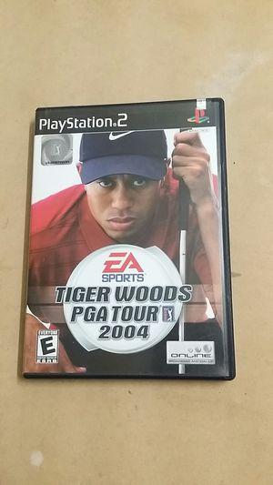 Tiger Woods PGA Tour 2004, PS2 for Sale in El Cajon, CA