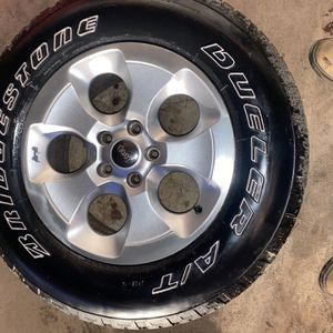 Jeep Wrangler Rims And Tires for Sale in Locust, NC