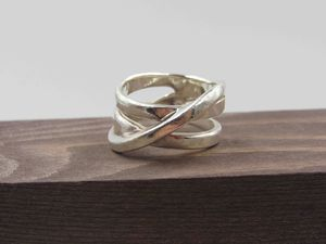 Size 8.25 Sterling Silver Unique Heavy Band Ring Vintage Statement Engagement Wedding Promise Anniversary Bridal Cocktail Friendship for Sale in Lynnwood, WA