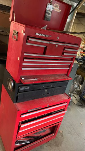 Stack on professional series tool box for Sale in N MARTINSVLLE, WV