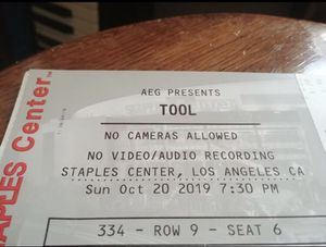 2 TOOL Tickets for Sale in Los Angeles, CA