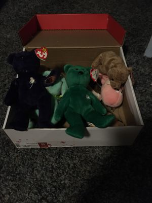 Rare beanie babies for Sale in Colleyville, TX