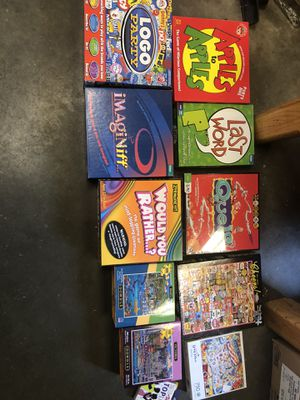 Games and puzzles for Sale in Seattle, WA