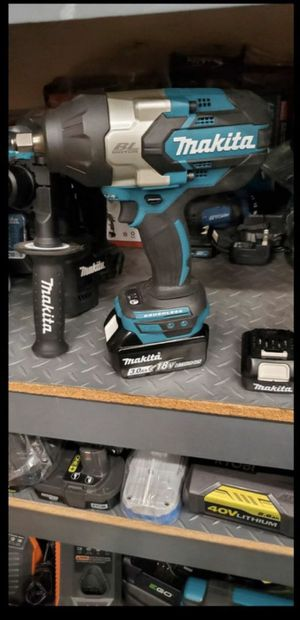 MAKITA 18V BRUSHLESS HIGH TORQUE 1/2 IMPACT WRENCH for Sale in San Bernardino, CA