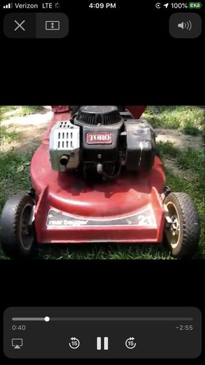 Toro Super Recycler with Kawasaki Engine for Sale in Westlake, OH
