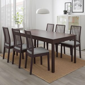 IKEA extendable dining table seats up to 10 for Sale in Fairfax, VA