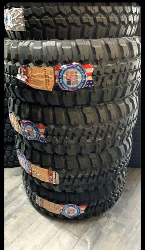 BRAND NEW TIRES LT 35x12.50r15 FEDERAL COURAGIA M/T FOR SALE ALL 4 TIRES $699 WITH FREE MOUNT AND BALANCE for Sale in San Jose, CA