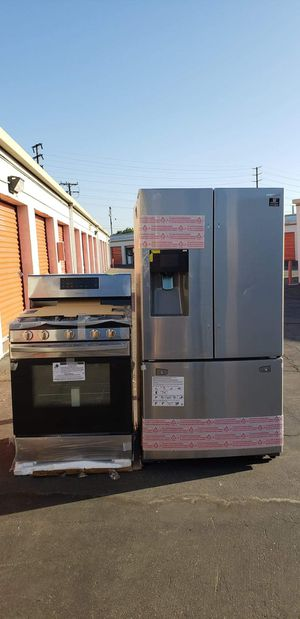 Estufa y Refrigerador Samsung for Sale in El Monte, CA