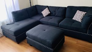 Black Sectional Couches for Sale in San Jose, CA