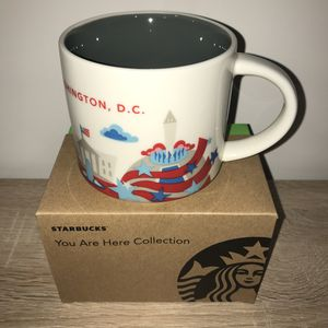 Starbucks Mug YAH Washington DC You Are Here for Sale in Dulles, VA