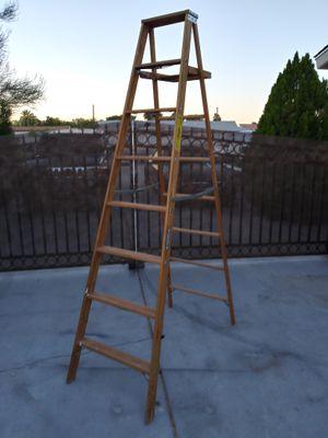 8' H Wood Stepladder Heavy Duty Type I for Sale in Las Vegas, NV