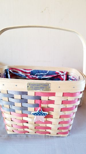 Longaberger village 20th century baskets 1st.edition 1997 for Sale in Fullerton, CA