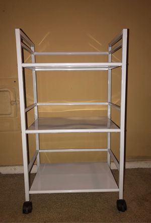 Small Rolling Storage Shelve Rack for Sale in Los Angeles, CA