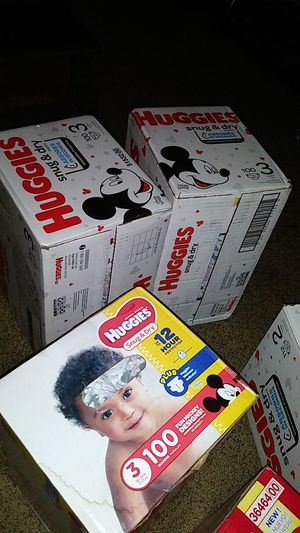 Huggies size 3 diapers for Sale in Portland, OR