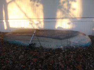 12 foot aluminum boat with trolling motor for Sale in Marseilles, IL