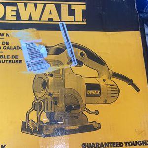 DEWALT 6.5 Amp Corded Jig Saw Kit with Kit Box for Sale in Washington, DC