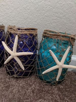 Starfish Mason Jars for Sale in Chandler, AZ