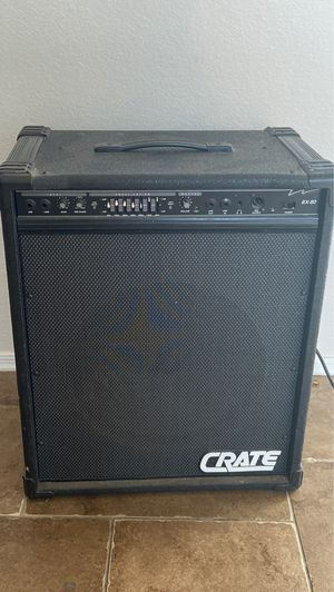 Crate BX-80 bass guitar amplifier 30x20in for Sale in Peoria, AZ